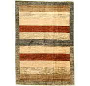 Link to 4' 10 x 6' 9 Striped Modern Ziegler Oriental Rug
