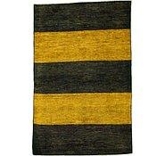 Link to 3' 6 x 5' 3 Striped Modern Ziegler Oriental Rug