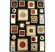 Link to 2' 8 x 4' Reproduction Gabbeh Rug