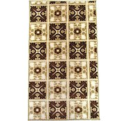 Link to 2' 4 x 4' Reproduction Gabbeh Rug