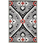 Link to 3' 4 x 5' Reproduction Gabbeh Rug
