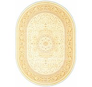 Link to 8' x 11' 4 Tabriz Design Oval Rug