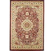 Link to 5' x 7' 3 Mashad Design Rug