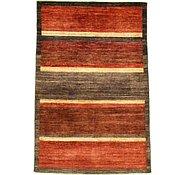 Link to 4' x 5' 10 Striped Modern Ziegler Oriental Rug