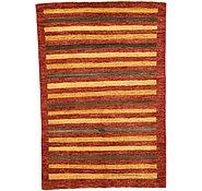 Link to Unique Loom 4' x 5' 9 Modern Ziegler Oriental Rug