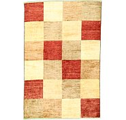 Link to 3' 11 x 5' 10 Checkered Modern Ziegler Oriental Rug