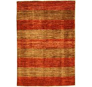 Link to 3' 10 x 5' 7 Striped Modern Ziegler Oriental Rug