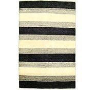 Link to 4' 3 x 6' 6 Striped Modern Ziegler Oriental Rug
