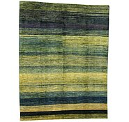 Link to 8' 7 x 11' 5 Striped Modern Ziegler Oriental Rug