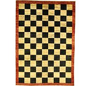 Link to 6' 7 x 9' 5 Checkered Modern Ziegler Oriental Rug