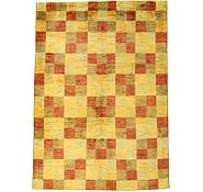 Link to 6' 5 x 8' 11 Checkered Modern Ziegler Oriental Rug