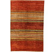 Link to 6' 6 x 9' 9 Striped Modern Ziegler Oriental Rug