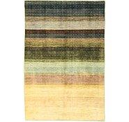 Link to 5' 5 x 8' Striped Modern Ziegler Oriental Rug