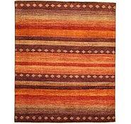 Link to 8' 1 x 9' 8 Striped Modern Ziegler Oriental Rug