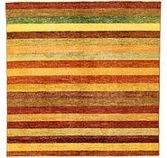 Link to 6' 7 x 6' 7 Striped Modern Ziegler Oriental Square Rug