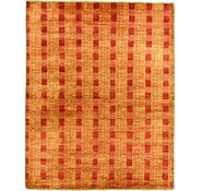 Link to 4' 9 x 5' 11 Checkered Modern Ziegler Oriental Rug