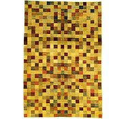 Link to 6' 8 x 9' 10 Checkered Modern Ziegler Oriental Rug