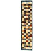 Link to 2' 2 x 9' 5 Checkered Modern Ziegler Oriental Runner Rug