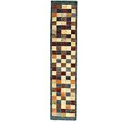 Link to 2' 2 x 9' 7 Checkered Modern Ziegler Oriental Runner Rug