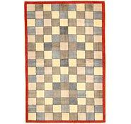 Link to 4' 4 x 6' 6 Checkered Modern Ziegler Oriental Rug