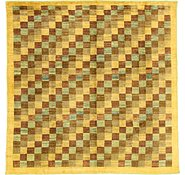 Link to 8' 2 x 8' 2 Checkered Modern Ziegler Oriental Square Rug