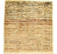 Link to 5' x 5' 4 Abstract Modern Ziegler Oriental Square Rug