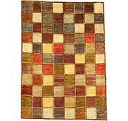 Link to 6' 5 x 8' 10 Checkered Modern Ziegler Oriental Rug