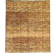 Link to 7' 11 x 9' 1 Checkered Modern Ziegler Oriental Square Rug
