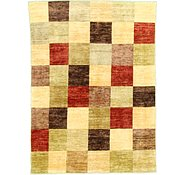 Link to 4' 9 x 6' 5 Checkered Modern Ziegler Oriental Rug
