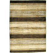 Link to 4' x 5' 9 Striped Modern Ziegler Oriental Rug