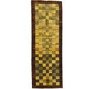 Link to 3' 1 x 8' 8 Checkered Modern Ziegler Oriental Runner Rug