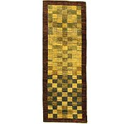 Link to 3' 1 x 8' 5 Checkered Modern Ziegler Oriental Runner Rug
