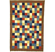 Link to 6' 8 x 9' 10 Checkered Modern Kilim Rug