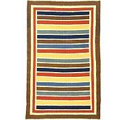 Link to 6' 8 x 10' 7 Striped Modern Kilim Rug
