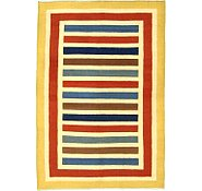 Link to 5' 10 x 8' 7 Striped Modern Kilim Rug