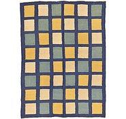 Link to 4' 11 x 6' 8 Checkered Modern Kilim Rug