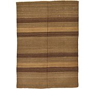 Link to 4' 1 x 5' 9 Striped Modern Kilim Rug
