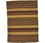 Link to 4' 2 x 5' 7 Striped Modern Kilim Rug