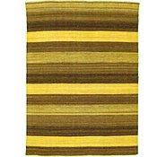 Link to 4' 2 x 5' 8 Striped Modern Kilim Rug