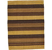 Link to 3' x 3' 11 Striped Modern Kilim Rug