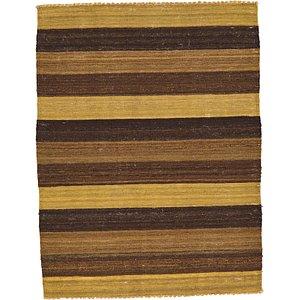 3' x 3' 11 Striped Modern Kilim Rug