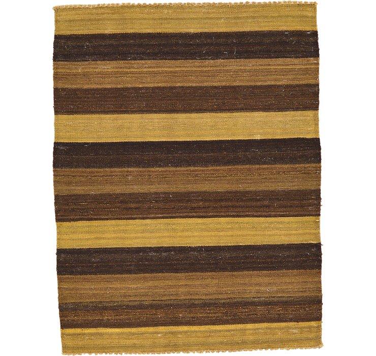 90cm x 120cm Striped Modern Kilim Rug