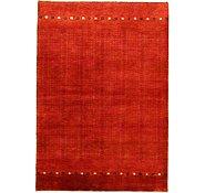 Link to 4' x 5' 10 Kashkuli Gabbeh Persian Rug