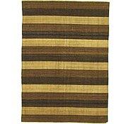 Link to 5' 6 x 7' 7 Striped Modern Kilim Rug