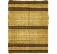 Link to 5' 7 x 7' 5 Striped Modern Kilim Rug