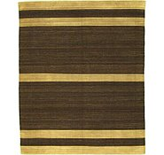 Link to 8' 1 x 9' 8 Striped Modern Kilim Rug