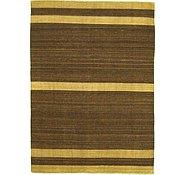 Link to 5' 6 x 7' 8 Striped Modern Kilim Rug