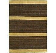 Link to 5' 6 x 7' 6 Striped Modern Kilim Rug