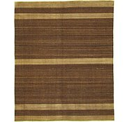 Link to 8' 2 x 9' 9 Striped Modern Kilim Rug