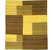 Link to 8' 4 x 9' 7 Checkered Modern Kilim Rug